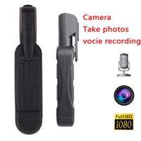 T189 Kalem Mini Kamera Full HD 1080 P Gizli KAM Giyilebilir Vücut Kalem Dijital Mini DVR Küçük DV Kamera Vücut DVR Kamera Video Ses Kaydedici