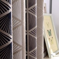 Korean Geometric Patterns of High Precision Jacquard Curtain...