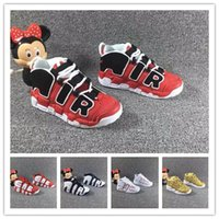 Cheap toddler Kids Uptempo Childrens Basketball Shoes top qu...