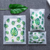 10pcs New Leaf Print Practical Portable Storage Bags Travel ...