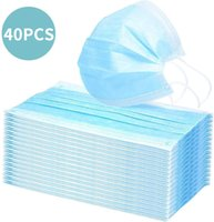 Disposable protective masks Three layers of protective breat...