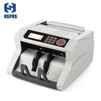 HSPOS HS-148 أفضل العد المال آلة الأشعة فوق البنفسجية / MG / IR / DD التعامل مع المال لتجارة الجملة