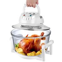 Candimill Air Fryer Electric 12L Конвекционная печь Домохозяйственная большая емкость Электрическая сковорода Печь для нефтепродуктов.