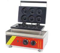 Gıda İşleme Ticari Masaüstü Elektrikli Mini Çörek Makinesi Küçük Çörek Yapma Makinesi