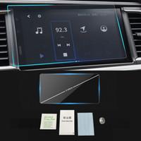 Pour Toyota Highlander Kluger U5 2017-2019 Auto Navigation GPS Moniteur écran de protection en verre trempé Film autocollant Accessoires