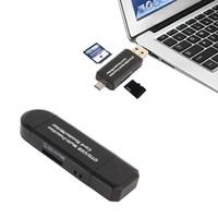 3 في 1 متعددة الوظائف بطاقة الهاتف قارئ بطاقة SD TF ثلاثية وتغ قارئ البطاقة الذكية محول المحمول للحصول على سامسونج للحصول على ماك بوك برو