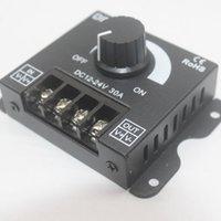 Controlador de brillo del interruptor Dimmer de 2021 30A 360W para el módulo LED de iluminación DC 12V-24V