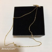 2X1.5CM Collection Necklace Style Pearl Letter Clavicle Fashion Luxury With Gift Box,for Ladies New Design C Chain Classic Vip Dudll