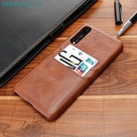 Luxury Card Holder Case for Huawei P20 P30 Mate 30 20 X 10 9...