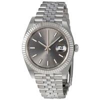 Luxury Top V3 наручные часы Sapphire стекла часы сплошные из нержавеющей стали зажездание светящиеся автоматические мужские наручные часы Дата просто складной пряжки новый