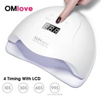 OMlove SUN X 54W UV LED Lamp Nail LCD Display 36 LEDs Nail L...