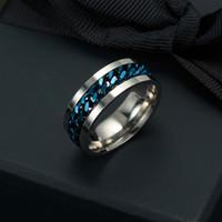 JRL 남성 주님 웨딩 파티 우아한 펑크 빈티지 에스닉 패션 비쥬 선물 링 남성 보석 K3500을위한 4 개 가지 색상 티타늄 스틸 반지