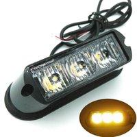 3 LED 방수 자동차 트럭 비상 램프 플래시 경고 조명 자동차 자동 트럭 라이트 바 LED 스트로브