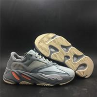 4c326b6bd6613 2019 Veröffentlichung Authentic Original 700 Inertia Kanye West Laufschuhe  Blau Grau Männer Frauen Outdoor Sports Sneakers