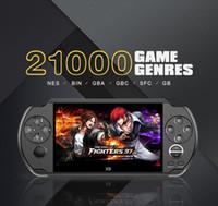 لعبة فيديو وحدة التحكم X9 لعبة المحمولة لاعب PSP ريترو لعبة 5.0 بوصة شاشة التلفزيون دعم خارج مع MP3 فيلم كاميرا الوسائط المتعددة 1PCS