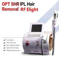 Nueva populares OPT SHR equipo del salón de láser nuevo estilo SHR IPL cuidado de la piel OPT RF IPL belleza del retiro del pelo de la máquina e luz rejuvenecimiento de la piel