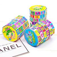 새로운 마술 큐브 어린이를위한 교육 장난감 어린이 수학 디지털 숫자 매직 큐브 장난감 퍼즐 게임 선물