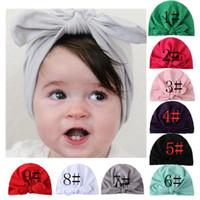 New American Style Kinder Hairwear beste Verkaufs-Baby-Baby-Foto-Props Mädchen Winter Hübsche Kaninchen-Ohr-Hut Indian Turban