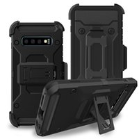 Galaxy S10 Plus Case Shockproof Protective Cover with Belt h...