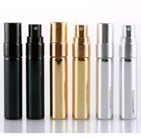 5ml recarregável portátil Mini Perfume garrafa de alumínio de viajantes do pulverizador atomizador Esvaziar Parfum Spray de Atomizador Container Ferramentas RRA2877