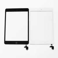écran tactile AAA pour mini iPad 1 mini 2 écran tactile Digitizer Assemblée + IC + bouton Accueil Flex câble + autocollant adhésif