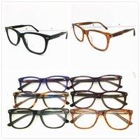 أزياء ذات جودة عالية تصميم العلامة التجارية النظارات الإطار الرجال النساء خمر خلات نظارات النظارات بلانك إطار نظارات نظارات نظارات CL1041