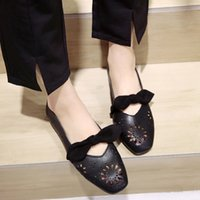 women shoes casual rubber Flat Openwork Small Leather Shoes ...