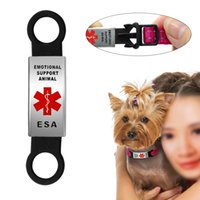 ESA Pet Dog Tag for Cat Puppy Collar Leash Harness Decoratio...