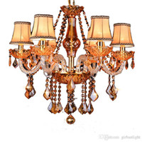 Высокое качество K9 современная хрустальная люстра для кухни Дизайн спальня столовая Кристалл современный роскошный большой отель люстра свет