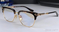 New Fahsion Eyewear Chrom-H Glasses Verti Uomo Eye Frame Design Può fare occhiali da prescrizione Vintage Frame Steampunk Style