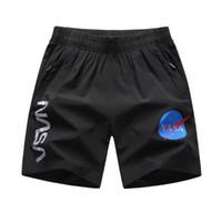 Mens Shorts lettera stampata Mens Beach Sports Shorts slacciano grande Formato asiatico L-6XL