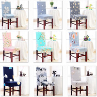 Cubierta de la silla del banquete de boda del banquete extraíble lavable estiramiento elástico Fundas Silla de comedor Sala de asiento protector de la cubierta del asiento XD21121