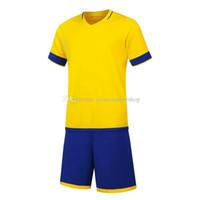 FC الأحدث 2019 20 الفانيلة الرجال لكرة القدم الفانيلة الساخن بيع ملابس كرة القدم الأصفر XL