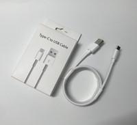 원래 OEM 1M USB 충전기 케이블 데이터 코드 충전 유형 C 휴대 전화에 대 한 COMS Samsung Galaxy Huawei Xiaomi Redmi Oppo Realme LG Moto 소매 상자 유형 -C