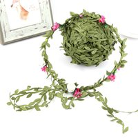 Flower Crown Headband Floral Headdress 40m Simulation Plant ...