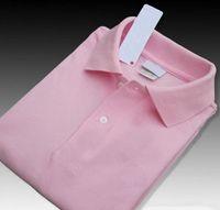 Diseñador Polos Verano cocodrilo caliente de la venta de la solapa de Polos de manga corta camisa de los hombres del deporte del polo ocasional de la manera de la alta calidad