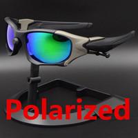 1 جهاز كمبيوتر شخصى جديد الاستقطاب الرياضة النظارات الشمسية في الهواء الطلق موضة ركوب الدراجات نظارات pitbos أعلى جودة مصنعين بالجملة مع مربع