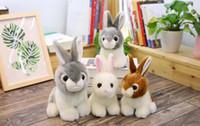 Atacado brinquedos de coelho bonitinho pequeno coelho brinquedos de pelúcia boutique bonecas de aniversário das crianças presentes