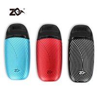 Best Zq VI 2 Draw / Button Vape Kit vape attivato 1000mAh con ZQ VI 2 Pod 3ml