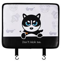 Sevimli Araba Koltuğu Cack Anti-Kick Pad Anti-Giyim Pad Evrensel Araba Anti-Skid Pad Araba Sarf Malzemeleri Oto için