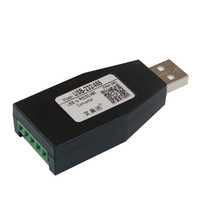 USB To S232/485 serial port Converter Industrial Communication Module RS232/RS485 adapter 5pin terminal Wiring