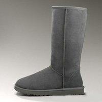 NUEVO 2021 Castaño Medio tobillo botines Mujeres Nieve Boot Womens Mini Bailey Bow II Broche Clase W T Short W Classic Winter Shoes