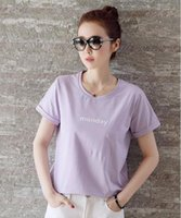T shirt Femme Mode Femme Femme Sequin causales coton à manches courtes Femme vente chaud mode Hot Style classique Étiquette de lavage d'été T-shirts Tops