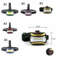 Wasserdicht 6 LED Mini COB-Scheinwerfer 3 Modus Angeln Outdoor-Camping-Reiten Licht Drehen Scheinwerfer ZZA245