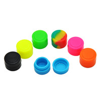 Non- stick Silicone oil Jar 2ML Oil Dab Wax non- stick Contain...