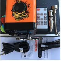 Date Menovo Electric Enail Nail Télécommande Dabber Boîte De Contrôle De La Température Avec Ti Nail Carb Cap Pour Les Tuyaux D'eau Bong Vaporisateur