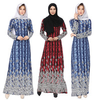 2019 Fahion Muslim Female Spring New Sexy Long Sleeve Ethnic...