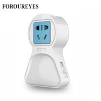 The New Led Night Light With Dual Usb Port Light Sensor Cont...