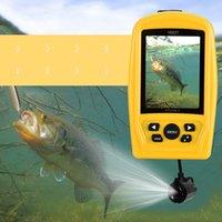 ŞANSLı FF3308-8 Sualtı Video Kamera Balık Bulucu Ile 4 adet Kızılötesi Led Kızılötesi Gece Görüş 120 Derece Açı Balık Bulucu