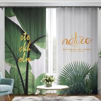 Cortina de sala de estar terminado sombreamento atmosférico de alta qualidade nórdica deriva cortinas pequenas personalidade janela